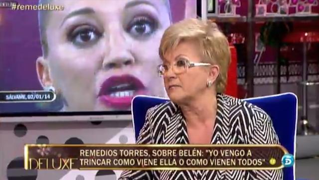 Sálvame Deluxe vence a Me resbala con la madre de María José Campanario