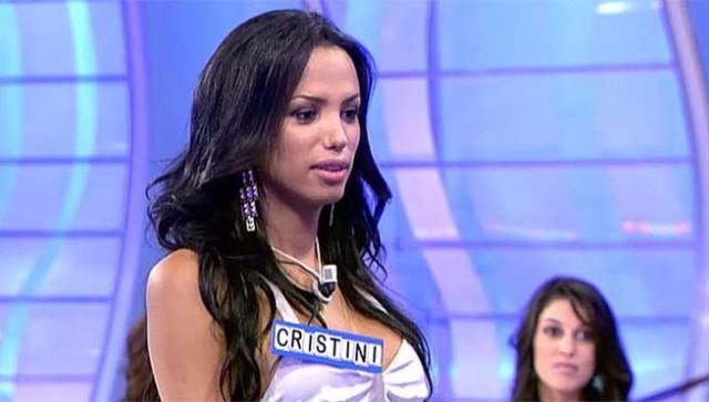 Cristini, de Mujeres y Hombres y Viceversa, desnuda en Interviú