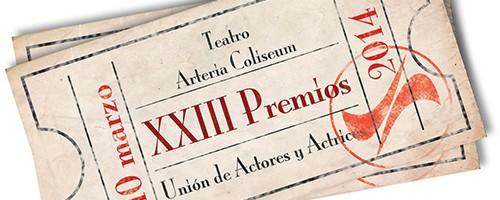 Nominados a los XXIII premios de la Unión de Actores en televisión