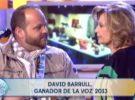 David Barrul, ganador de la segunda edición de La Voz, disco de platino