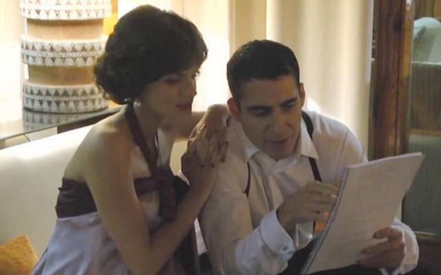 El reencuentro de Miguel Ángel Silvestre y Amaia Salamanca en Velvet