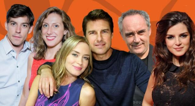 Tom Cruise, Emily Blunt y Ferrán Adrià, en El Hormiguero 3.0