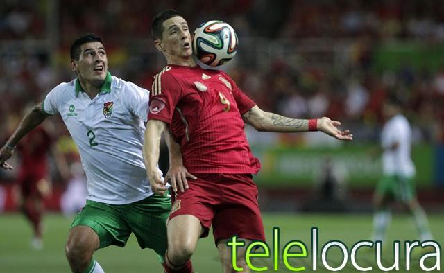 El España-Bolivia supera los cuatro millones de espectadores en Cuatro