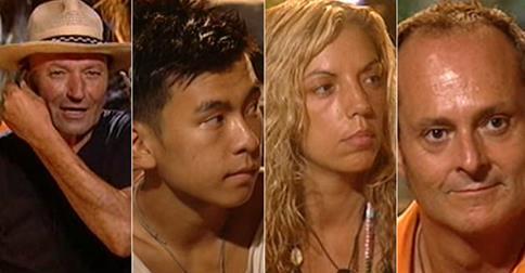Carolina, palafito; Vivi, expulsada y Yong Li, Nacho, Rebeca y Amador, nominados en Supervivientes