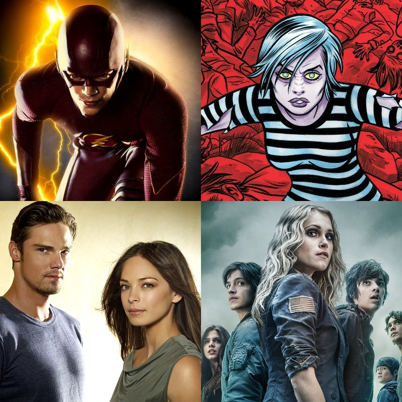 The CW dice sí a Flash y a iZombie; cancela The Carrie diaries y renueva Beauty and the beast