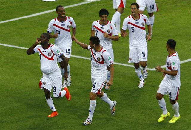 El Costa Rica-Grecia lidera la noche del domingo