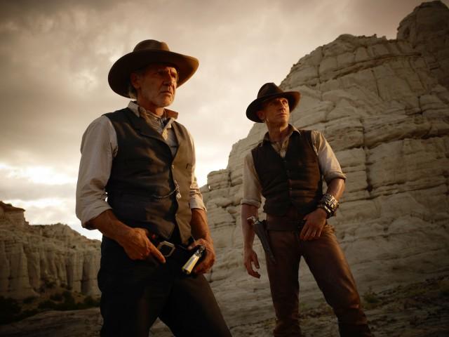 Cowboys & Aliens domina la noche del domingo en La 1