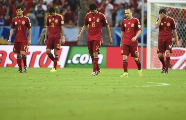 La salida del España del Mundial de Brasil reúne a más de 13 millones de espectadores