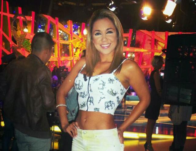 Viviana Figueredo (Supervivientes 2014) posa desnuda y encantada para Interviú