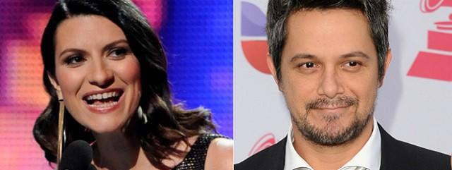 Alejandro Sanz y Laura Pausini coaches de La Voz
