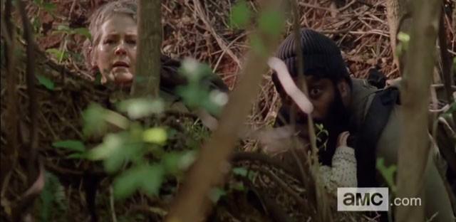 Teaser de la quinta temporada de The Walking Dead con Carol y Tyreese en apuros