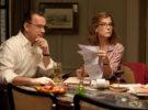 Tan fuerte, tan cerca con Sandra Bullock y Tom Hanks domina la noche del domingo