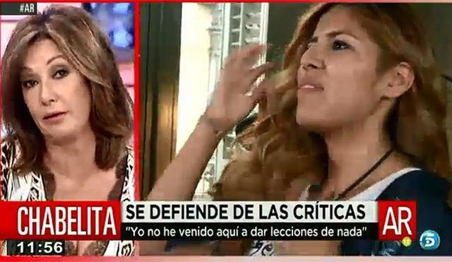 Ana Rosa Quintana se enfada con Cazamariposas