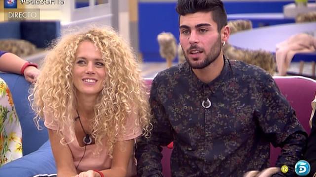 Azahara elige a Hugo como pareja en Gran Hermano 15
