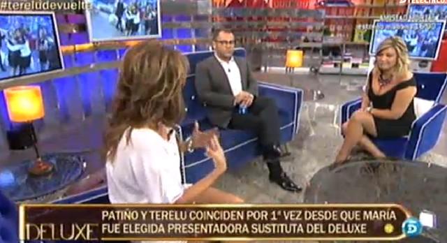 María Patiño y Terelu Campos se reencuentran en el Deluxe