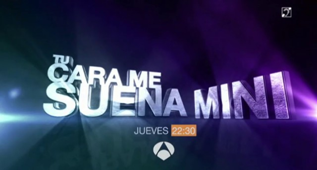 Tu cara me suena mini debuta el jueves, 11 de septiembre en Antena 3