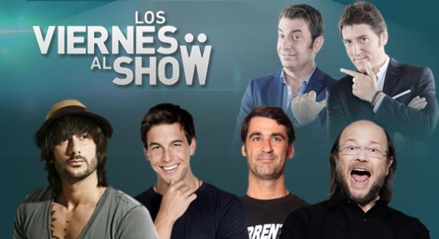 Antena 3 estrena esta semana Los viernes al show