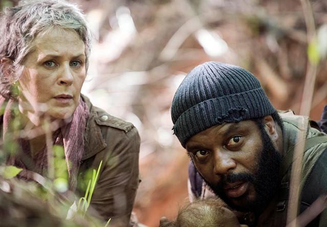 The Walking Dead arrasa en el comienzo de su quinta temporada
