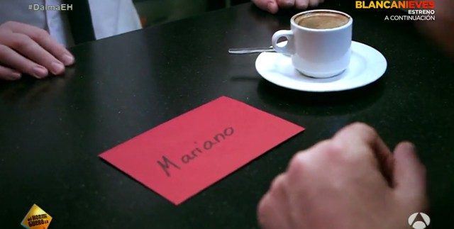 El Hormiguero parodia el anuncio de la Lotería con Mariano Rajoy y Pablo Iglesias