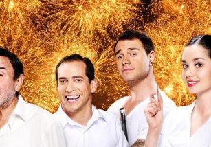 Pepe Leal, Vicente, Dani y Mati, de Chiringuito de Pepe, darán las campanadas en Telecinco
