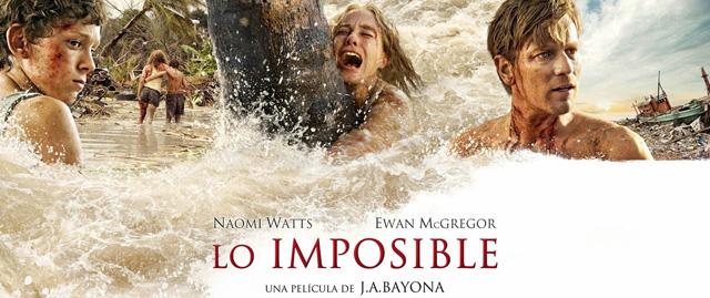 La versión extendida de Lo imposible se estrena el martes en Telecinco