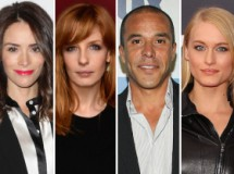 Abigail Spencer, Michael Irby, Kelly Reilly y Leven Rambin fichan por True detective