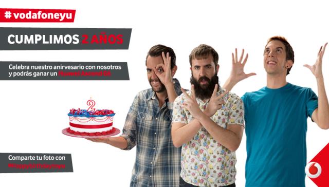 Vodafone Yu cumple dos años