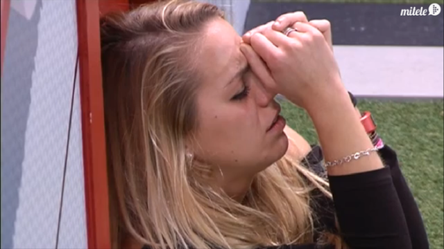 Yolanda llora por Jonathan en Gran Hermano 15