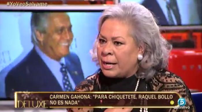 Sálvame deluxe sube Carmen Gahona y Los viernes al show marca su mínimo