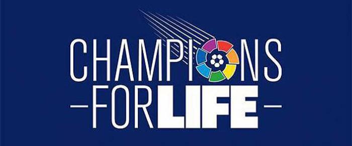 La 1 emite el partido solidario Champions for Life esta tarde