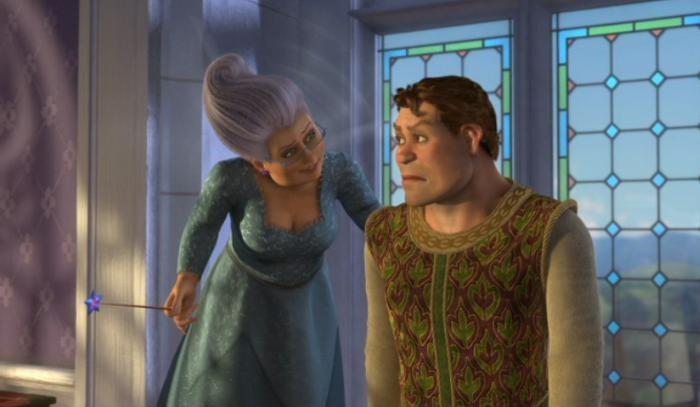 Shrek 2 se emite en La 1