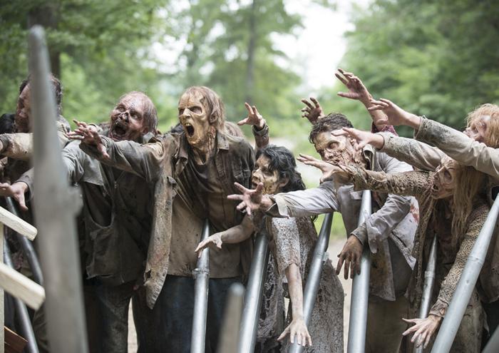 The Walking Dead cierra la mitad de su quinta temporada con 14,8 millones de espectadores