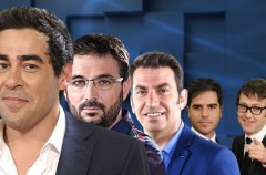 Joaquín Reyes, Ernesto Sevilla, Arturo Valls y Pablo Chiapella visitan El hormiguero 3.0