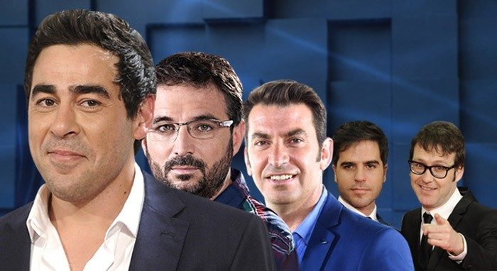 Jordi Évole, Joaquín Reyes, Ernesto Sevilla, Arturo Valls y Pablo Chiapella visitan El hormiguero 3.0