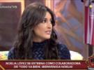 Noelia López, nueva colaboradora de Todo va bien