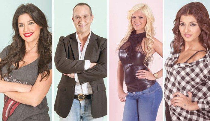Aguasantas, Ares, Víctor Sandoval e Ylenia, nominados en Gran Hermano VIP