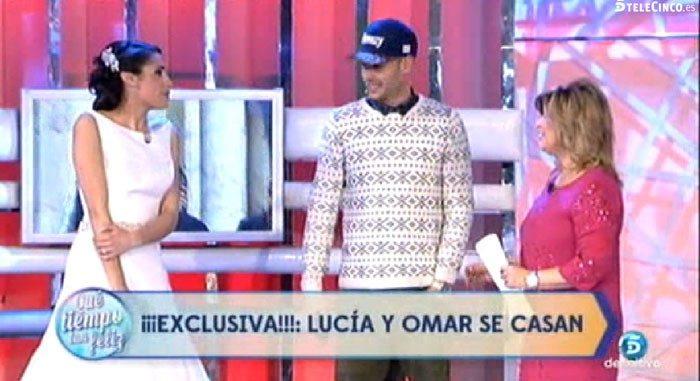 Lucía y Omar anuncian su boda y Yolanda y Jonathan confirman su noviazgo en QTTF