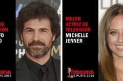 Rodolfo Sancho y Michelle Jenner, mejores actores de televisión en los Fotogramas de Plata 2014