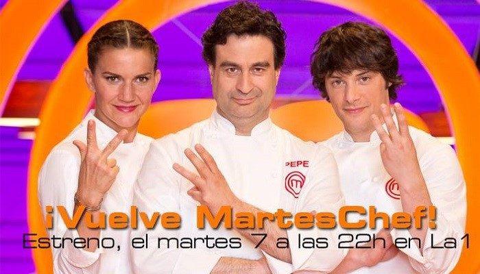 La tercera edición de MasterChef se estrena el 7 de abril