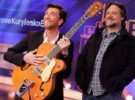 Russell Crowe regala una guitarra a Pablo Motos