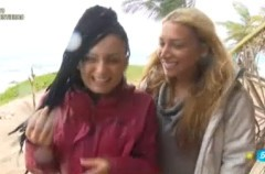 Arantxa, expulsada, y desterrada junto a Elisa en Supervivientes 2015