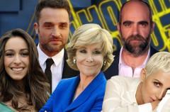 Esperanza Aguirre, Daniel Guzmán y Luis Tosar, Oona Chaplin y Ana Torroja en El Hormiguero 3.0
