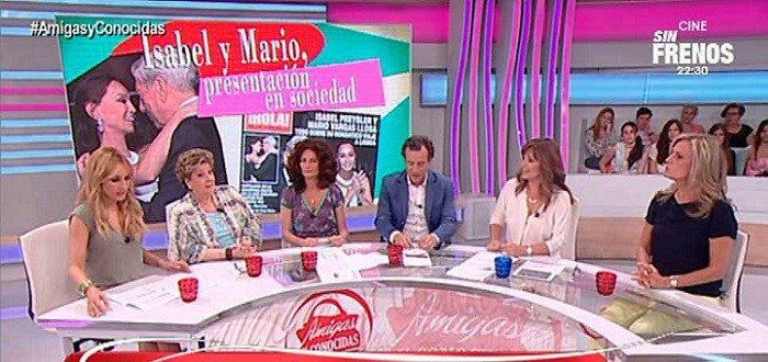 Beatriz Cortázar presentadora de Amigas y Conocidas