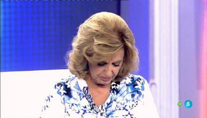 La emoción de María Teresa Campos en Qué tiempo tan feliz