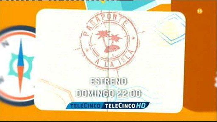 Pasaporte a la isla se estrena el domingo en Telecinco