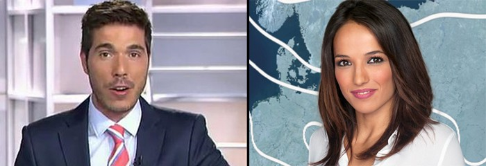 Pablo Pinto y Rebeca Haro, nuevos presentadores de deporte en Informativos Telecinco