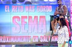 """El amigo de Chabelita, Sema, protagonista de """"El reto más gordo"""" en Sálvame"""