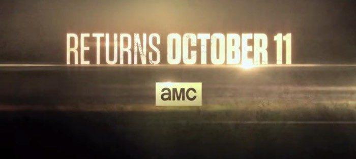 The Walking Dead estrena su sexta temporada el 11 de octubre