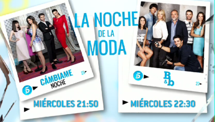 B&b y Cámbiame noche, la noche de la moda, se estrena hoy en Telecinco