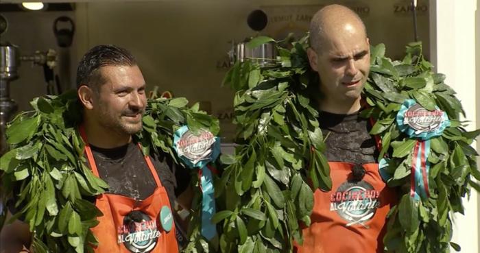 Javier Brichetto y Jonatan Armengol ganan Cocineros al Volante
